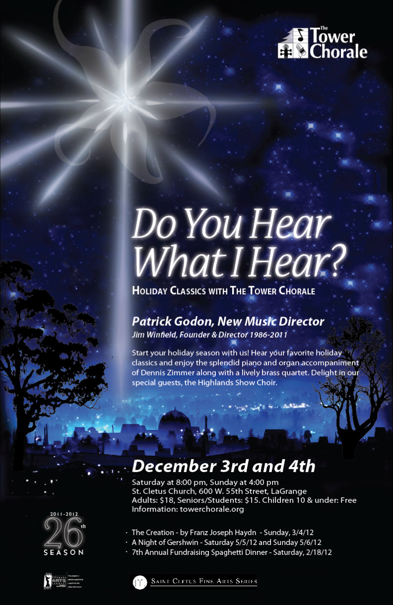 Do You Hear What I Hear concert poster