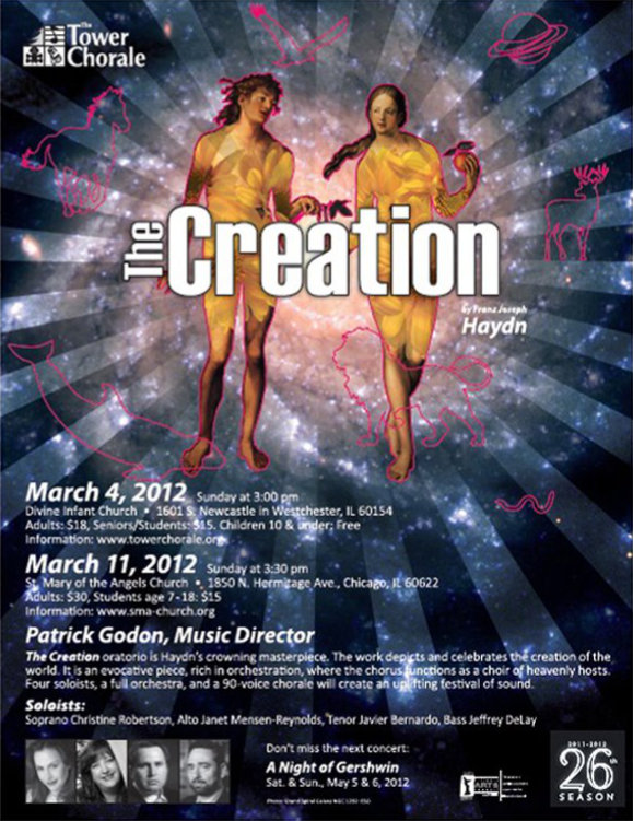 The Creation concert program