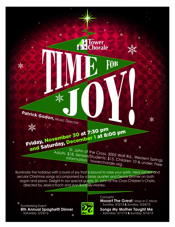 Time for Joy concert program