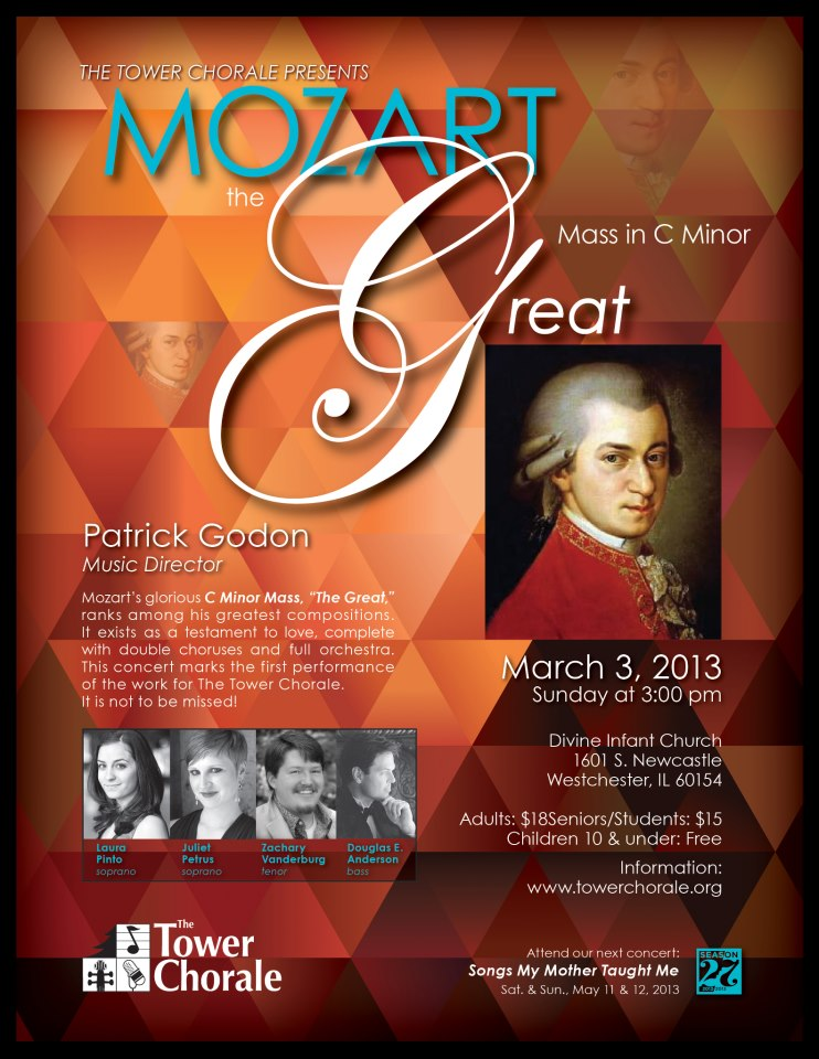 Mozart the Great concert program