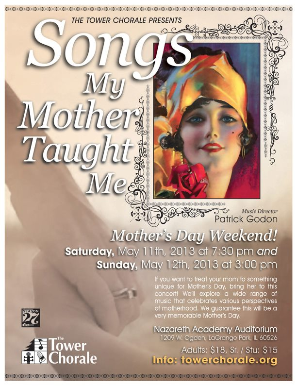 Songs My Mother Taught Me concert program