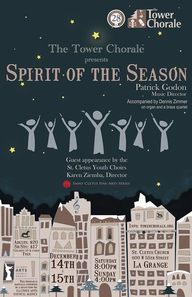 Spirit of the Season concert program