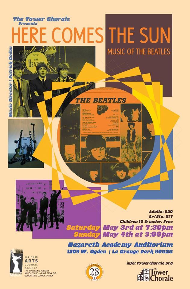 Here Comes the Sun concert program