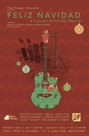 Feliz Navidad concert program