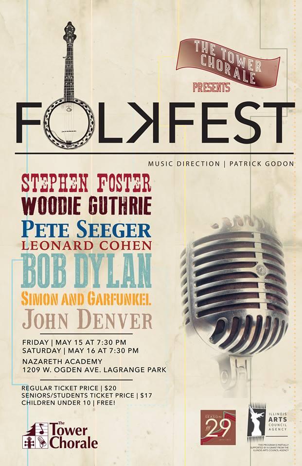 Folkfest concert program