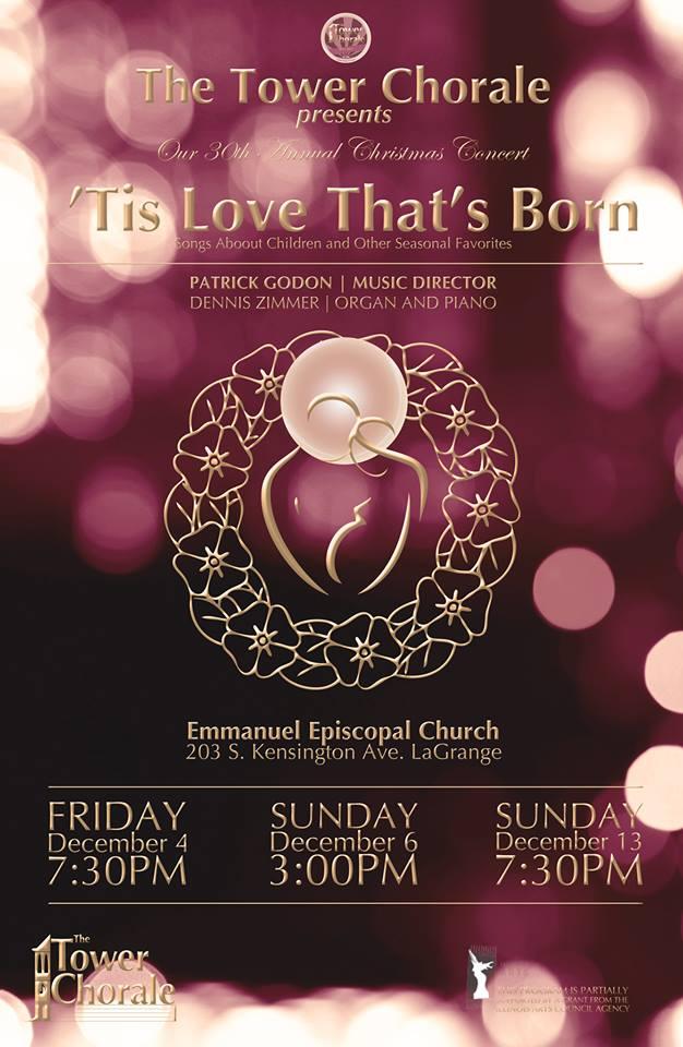 'Tis Love That's Born concert program