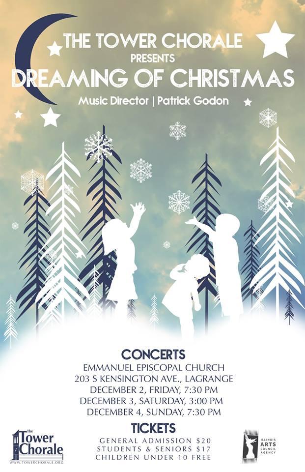 Dreaming of Christmas concert program