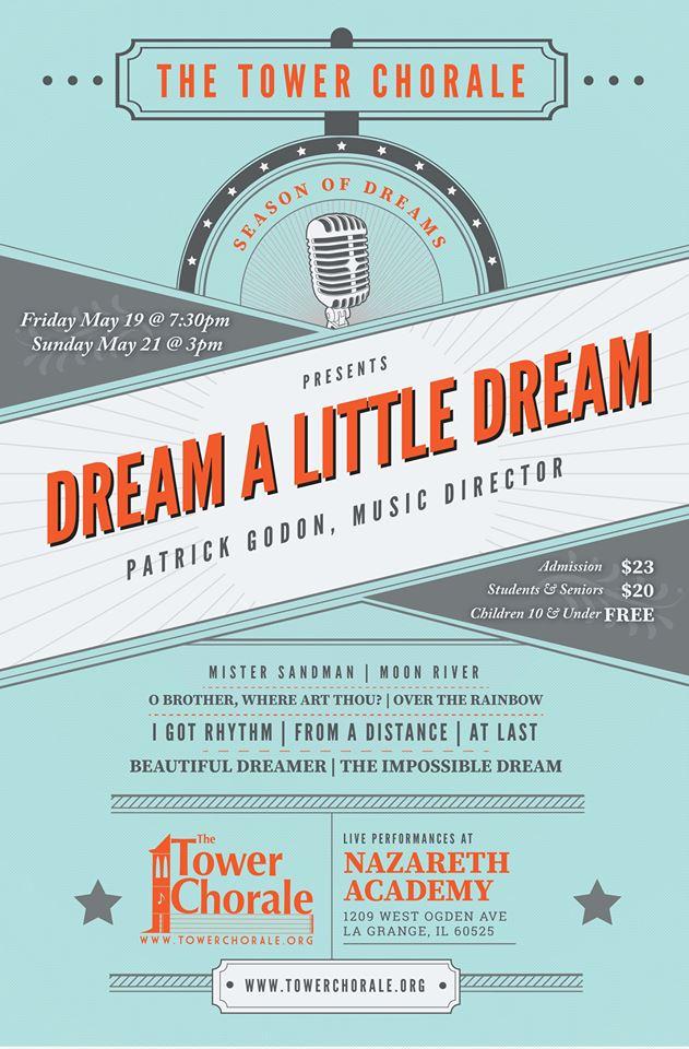 Dream a Little Dream concert program