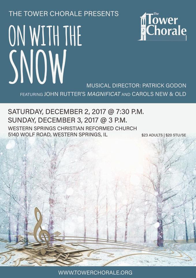 On with the Snow! concert program