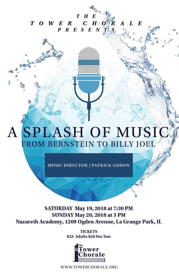 A Splash of Music from Bernstein concert program