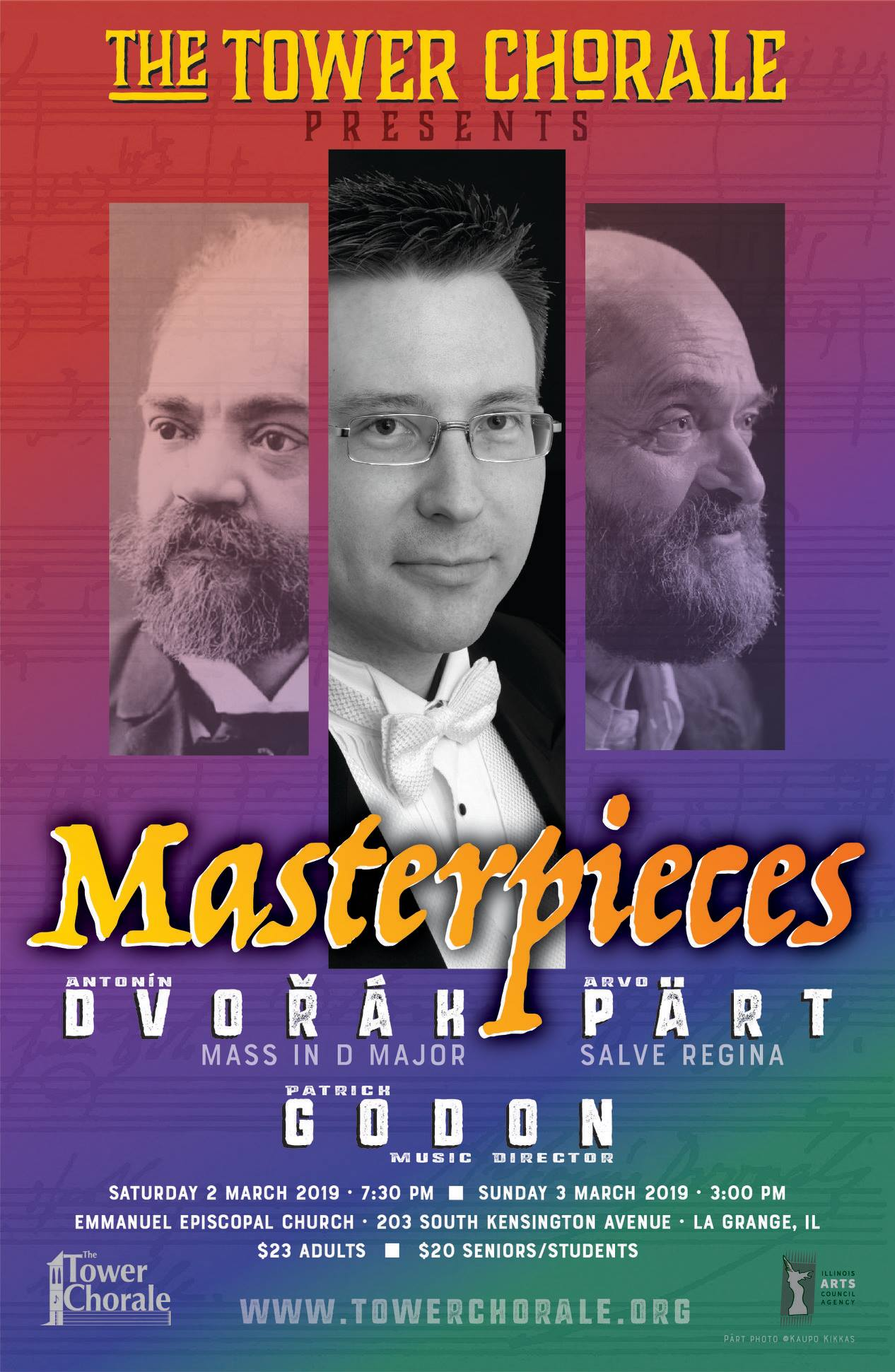 Dvorak Part Masterpieces concert program
