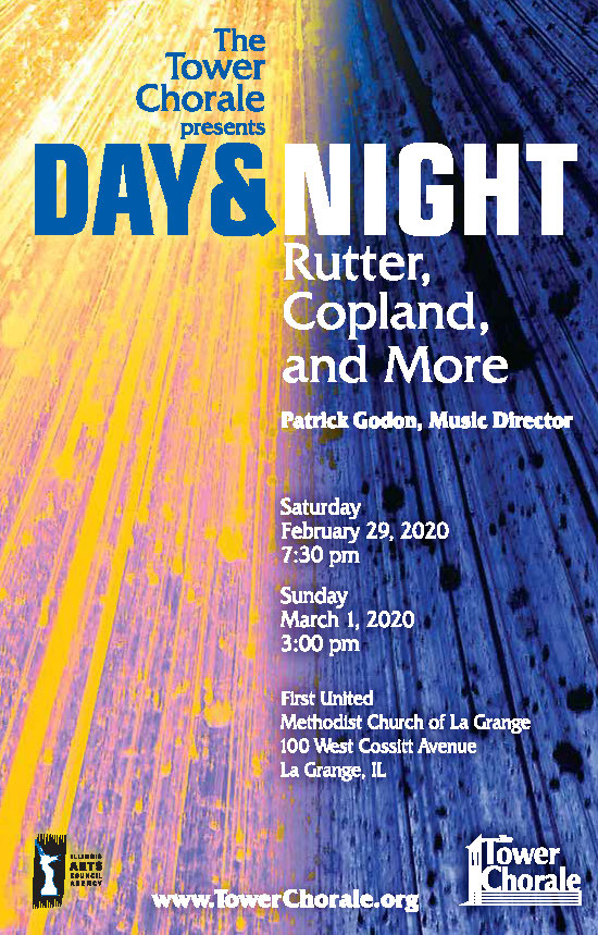 Day & Night concert poster