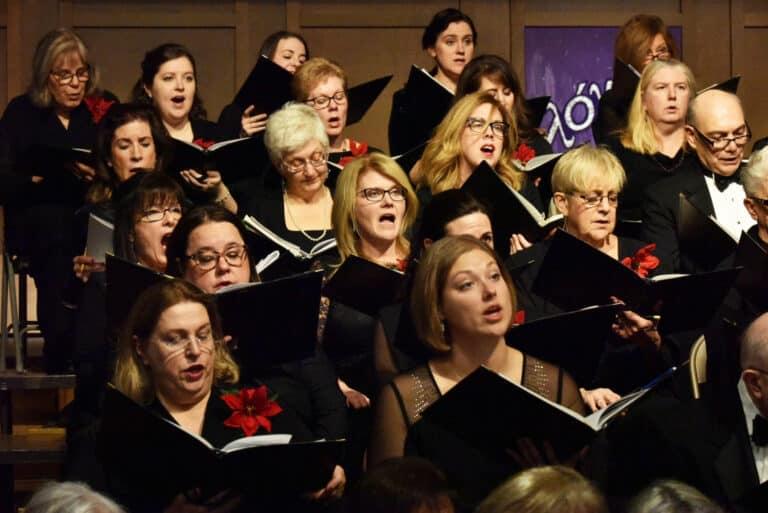 Gloria concert photo from December 2018
