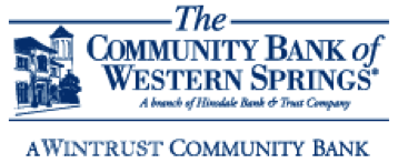 The Community Bank of Western Springs logo