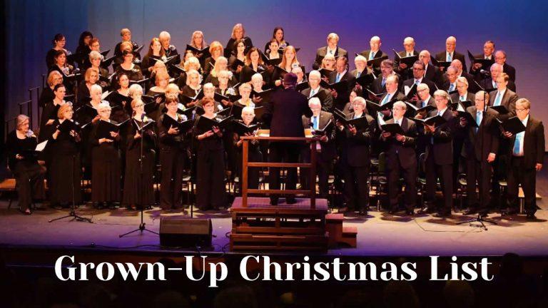 Grown-Up Christmas List video thumbnail